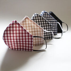 Fabric Face Masks Two Styles Washable And Reuseable