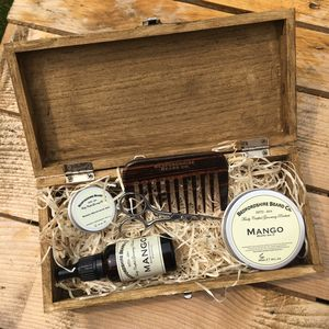 Deluxe Beard Gift Set - men's grooming & toiletries