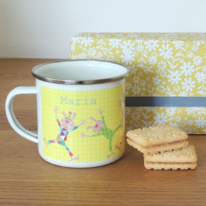 Easter Personalised Enamel Mug