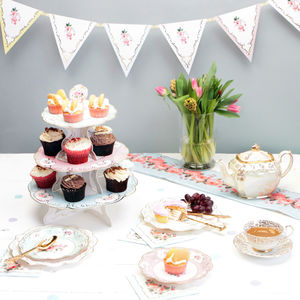 Afternoon Tea Party In A Box - cake stands