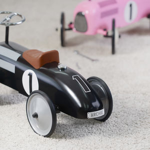 Vintage Kids Ride On Car Personalised - new in baby & child