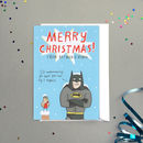 'Batman And Robin' Christmas Card