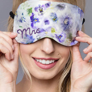 Bridal Eye Mask - eye masks & neck pillows