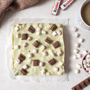 White Chocolate And Hazelnut Rocky Road