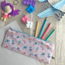 Children's Mermaid Fabric Pencil Case