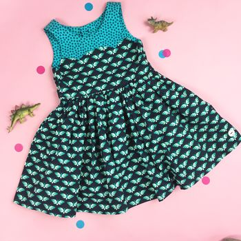 Girls Butterfly Special Occasion Dress