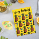 Repeat Pattern Pineapple Card