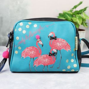 'Candy Pop' Flamingle Cross Body Bag