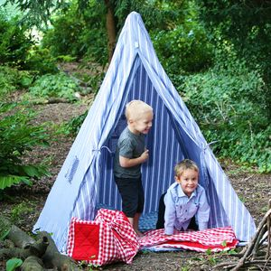 Handmade Cotton Teepee Age 3+ - outdoor toys & games