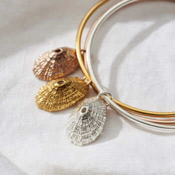 Limpet Shell Charm Bangle