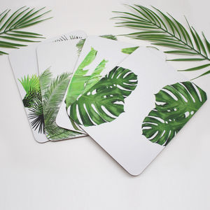 Tropical Leaf Placemats