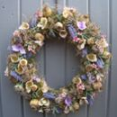 Lavender And Poppy Wreath
