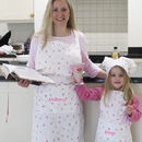 Personalised Adult And Child Apron