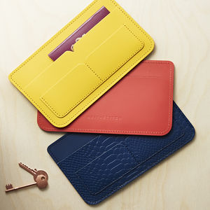 Personalised Travel Wallet - for young men
