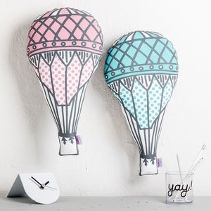 Hot Air Balloon Nursery Cushion - cushions