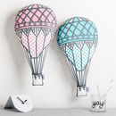 Hot Air Balloon Nursery Cushion