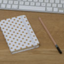 Mini Polka Dot Hardback Notebook