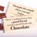Nothing Better Than 'A Good Friend' Chocolate Bar