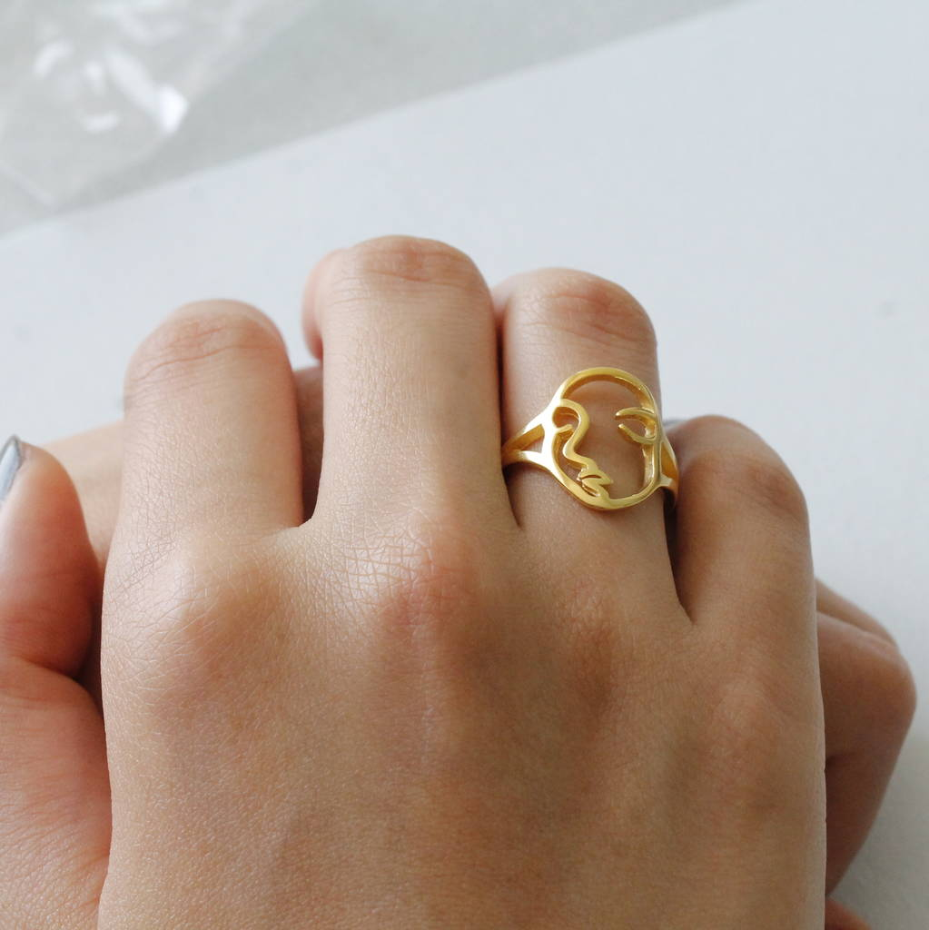 dual vesper face image ring products rings