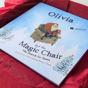 Personalised Christmas Book: Search For Santa - personalised christmas books