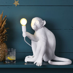 Designer Monkey Light - office & study