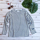 Ladies Classic Striped Breton Top