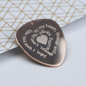 You Turn Me.. Personalised Guitar Plectrum - whats new