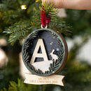 Personalised First Christmas Bauble Decoration