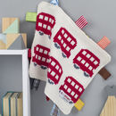 London Buses Baby Comfort Blanket
