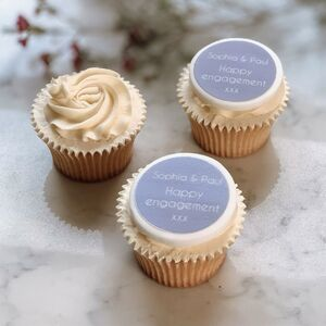 Happy Engagement Cupcake Decorations