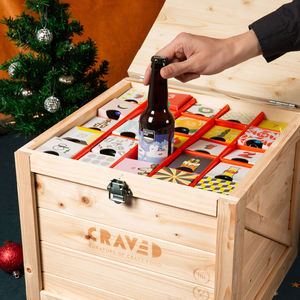Craft Beer Advent Calendar - beer & cider