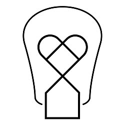 The White Bulb logo