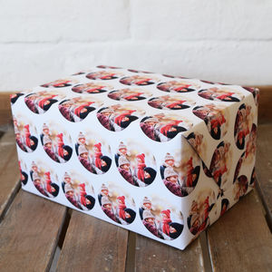Personalised Christmas Photo Wrapping Paper - cards & wrap
