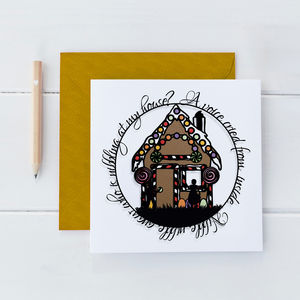 Hansel And Gretel Square Card