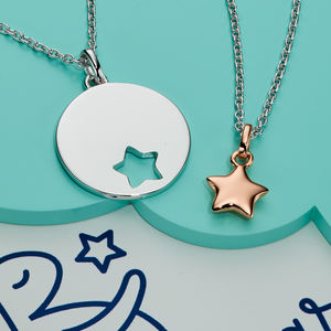 You Are My Little Star Silver Necklace Set - jewellery sets