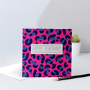 Leopard Print Birthday Card For Him Or Her