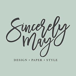 Sincerely May Logo