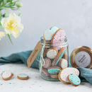 Jar Of Easter Egg Biscuits