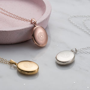 Chakra Locket - rose gold jewellery