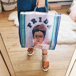 Frida Kahlo Shopper Bag - shopper bags