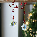 Crystal Snowflake Beaded Hanger
