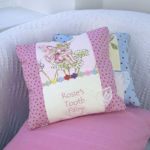 Tooth Flower Fairy Cushion