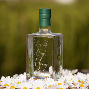 Engraved Gordon Castle Gin - 50th birthday gifts
