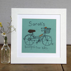 Bicycle Personalised Picture