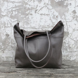 Leather Mira Large Tote Bag - fashionista gifts