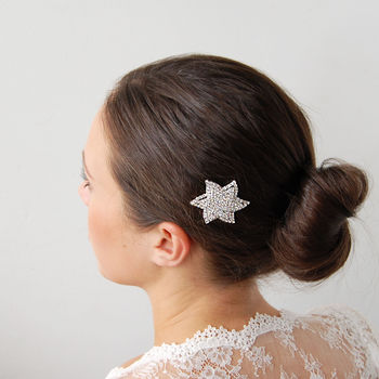 Vintage Style Star Hair Comb