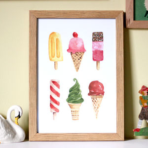 Ice Cream Nursery Print - baby's room