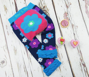 Flower Leggings - babies' tights
