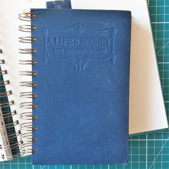 'A Life's Secret' Upcycled Notebook