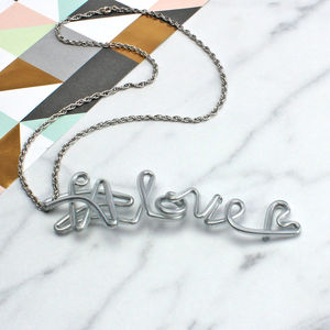 Hashtag Love Instagram Necklace - jewellery sale